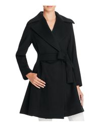 Trina Turk | Black Violet Fit-and-flare Coat | Lyst