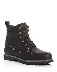 Sperry Top-Sider | Black Authentic Original Lug Boots for Men | Lyst