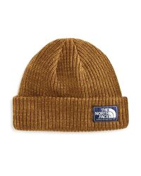 The North Face | Brown Salty Dog Beanie for Men | Lyst