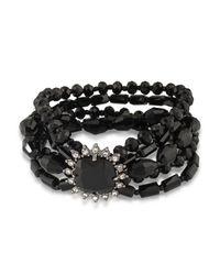 Carolee | Multicolor Beaded Bracelet | Lyst