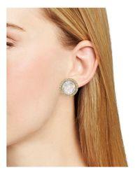 Kate Spade - Metallic Absolute Sparkle Stud Earrings - Lyst