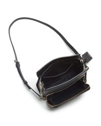 DKNY Black Pocket Crossbody