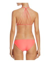 Mikoh Swimwear | Red Zuma Bikini Bottom | Lyst