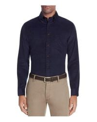 Brooks Brothers | Blue Corduroy Slim Fit Button-down Shirt for Men | Lyst