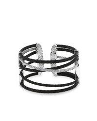 Alor | Multicolor Black & Grey Cable Cuff | Lyst