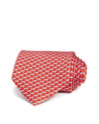 Ferragamo - Red Sea Turtle Abstract Classic Tie for Men - Lyst