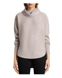 AllSaints Multicolor Rio Roll-neck Sweater