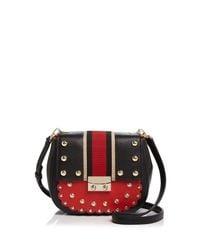 Kate Spade | Red Madison Stewart Street Byrdie Leather Crossbody | Lyst