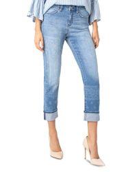 Liverpool Jeans Company Blue Marley Straight - Leg Jeans In Indigo Bandana