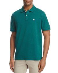 Vineyard Vines Green Santa Stretch Pique Short Sleeve Polo Shirt for men