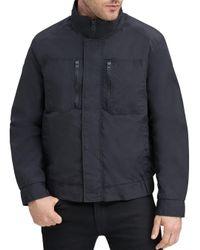 Marc New York Black Gunther Zip - Front Jacket for men