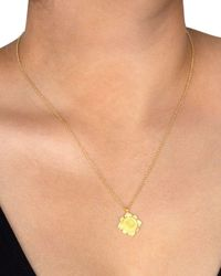 Dogeared Metallic You're One Of A Kind Necklace In 14k Gold - Plated Sterling Silver Or Sterling Silver