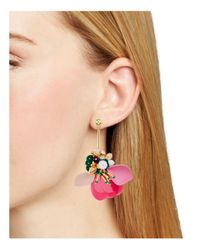 Kate Spade - Pink Linear Earrings - Lyst