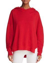 Joie Red Adene Hooded Sweatshirt