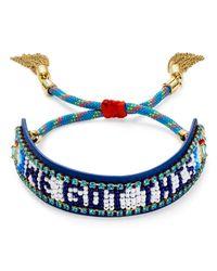 Rebecca Minkoff - Blue We Got This Friendship Bracelet - Lyst