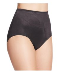Tc Fine Intimates | Black Waistline Gripper Brief | Lyst