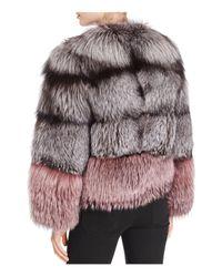 Maximilian Multicolor X Michael Kors Nafa Fox Fur Jacket