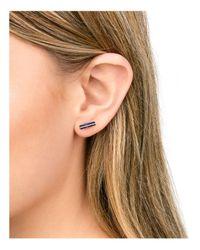 Gorjana Metallic Dez Bar Stud Earrings