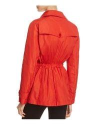 Herno Red Rain Jacket
