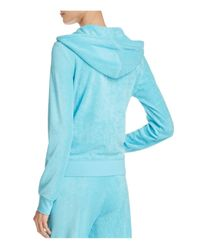 Juicy Couture Blue Terry Robertson Hoodie