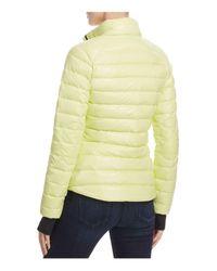 Sam. Yellow Sundown Quilted Down Jacket