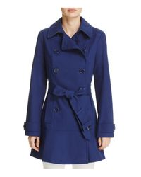 Kate Spade | Blue Trench Coat | Lyst
