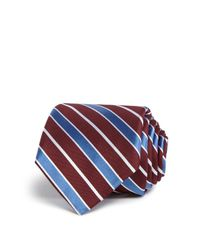W.r.k. | Blue Wide Stripe Classic Tie for Men | Lyst