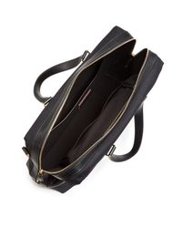 Paul Smith - Black Canvas And Leather Detail Briefcase - Lyst