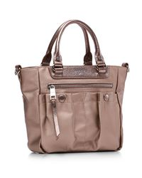 MZ Wallace - Brown Micro Mayfair Crossbody - Lyst