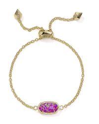 Kendra Scott | Metallic Elaina Kyocera Opal Bracelet | Lyst