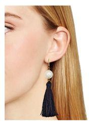 Kate Spade | Multicolor Tassel Drop Earrings | Lyst