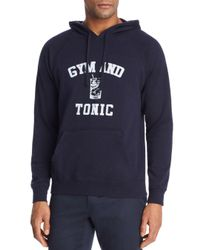 Sub_Urban Riot Blue Gym And Tonic Pullover Hoodie for men