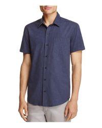 W.r.k. - Blue Reworked Dot Regular Fit Button-down Shirt for Men - Lyst
