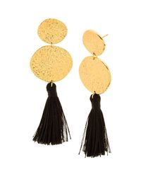 Gorjana | Metallic Phoenix Tassel Drop Earrings | Lyst