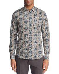 Paul Smith - Green Liberty Print Floral Slim Fit Dress Shirt for Men - Lyst