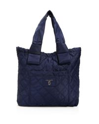 Marc Jacobs - Black Knot Quilted Nylon Tote - Lyst