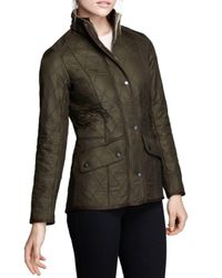 Barbour Green Cavalry Polarquilt Jacket
