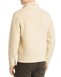 Vineyard Vines - Natural Fleece Quarter Zip Pullover for Men - Lyst