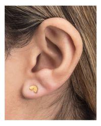 Dogeared - Metallic Rainbow Stud Earrings - Lyst