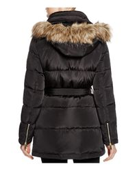 MICHAEL Michael Kors Black Shell Puffer Coat