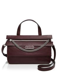 Marc By Marc Jacobs Black Top Of The Chain Satchel