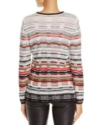 NIC+ZOE - Nic+zoe Red Hills Crossover Strap Sweater - Lyst