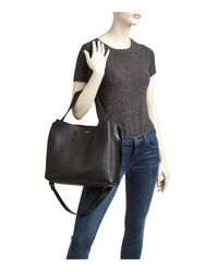 Furla Black Capriccio Leather Hobo