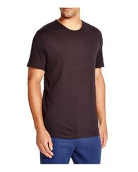 T By Alexander Wang Black Classic Short Sleeve Tee for men