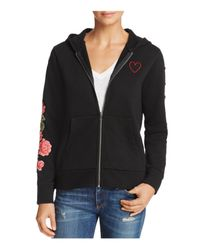 Chaser Black Tiger Embroidered Hoodie