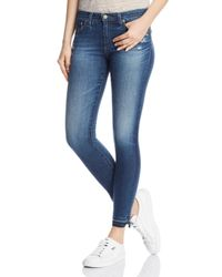 AG Jeans Blue Legging Ankle Jeans In 9 Years Globe