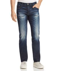 AG Jeans - Blue Matchbox Slim Fit Jeans In 3 Years Trentwood for Men - Lyst