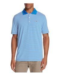 Vineyard Vines Blue Performance Porter Stripe Regular Fit Polo Shirt for men