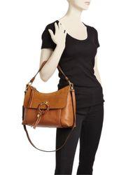 See By Chloé - Black Joan Medium Leather Hobo - Lyst