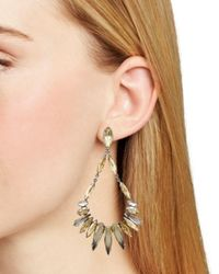 Sorrelli - Multicolor Jagged Edge Earring - Lyst